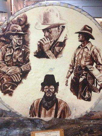 Texas Prison Museum: geschilderd door gevangenen