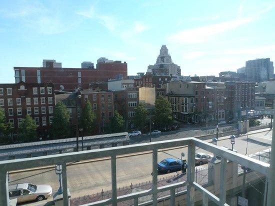Penn's View Hotel : Vista do quarto