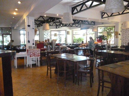 Hotel Saint George: listo para el desayuno
