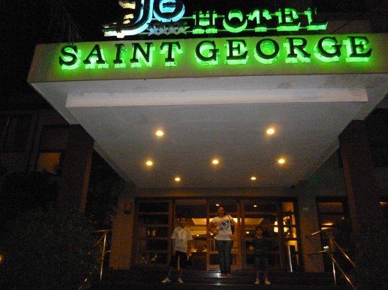Hotel Saint George : fachada del hotel