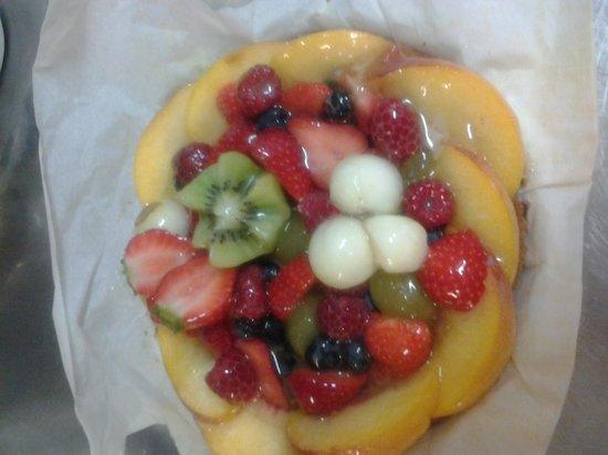 Ristorante Defilippi: crostata di frutta fresca