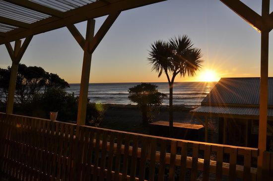 Punakaiki Beach Hostel: views