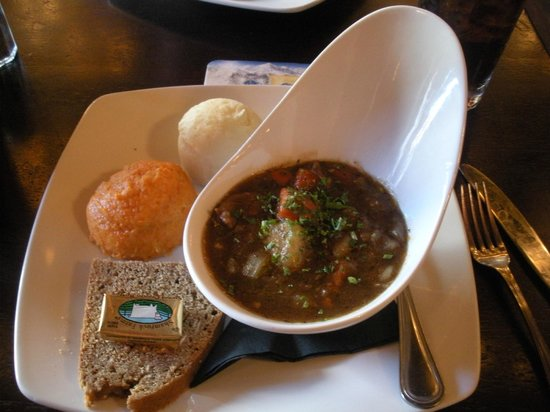 ... Irish Pub & Restaurant: Irish Stew with carrot/parsnip mash and Irish