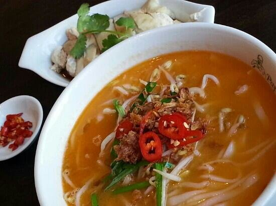 Steam From Soup ~ Ipoh kuay teow soup w steam chicken picture of