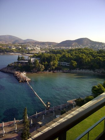 Arion, a Luxury Collection Resort & Spa: View from my balcony