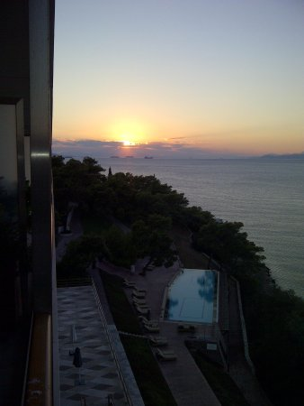 Arion, a Luxury Collection Resort & Spa: Sunset from Balcony