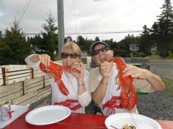Ryer Lobsters: BIG huh?