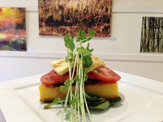 Embellish Organics: my polenta stack
