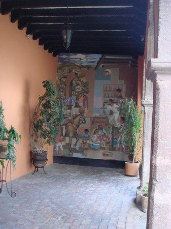 Rancho Hotel El Atascadero: Mural