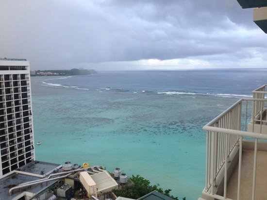 The Westin Resort Guam : View from Level 18 Balcony