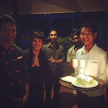 Apsara Centrepole Hotel: Birthday surprise