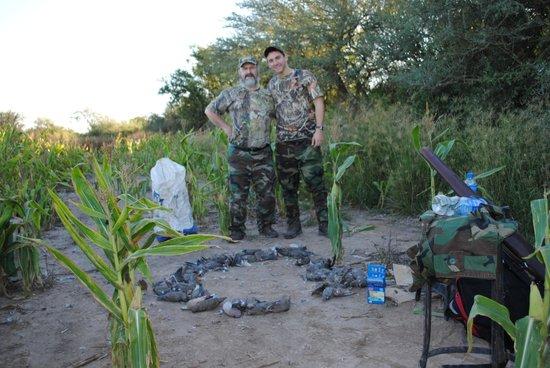 El Cortijo : Second hunting day