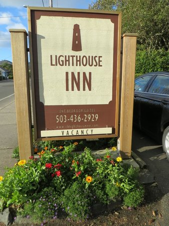 The Lighthouse Inn: Sign