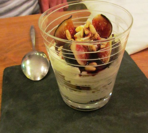 La Veraison : fig cheesecake