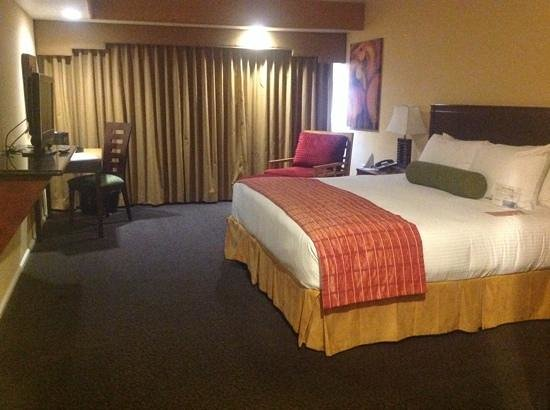 Fountaingrove Inn: large roomy king room