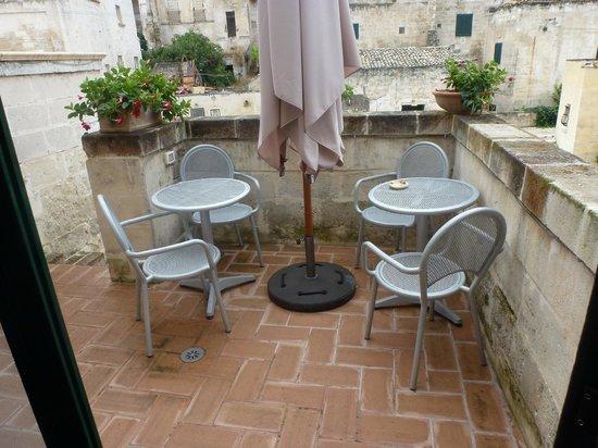B&B Sassolino: courtyard