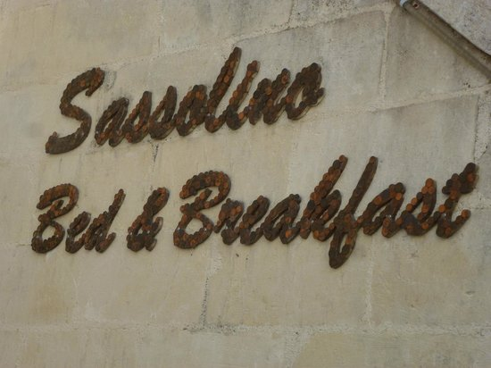 B&B Sassolino: Name of B&B