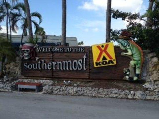 Sugarloaf Key / Key West KOA : Entrance