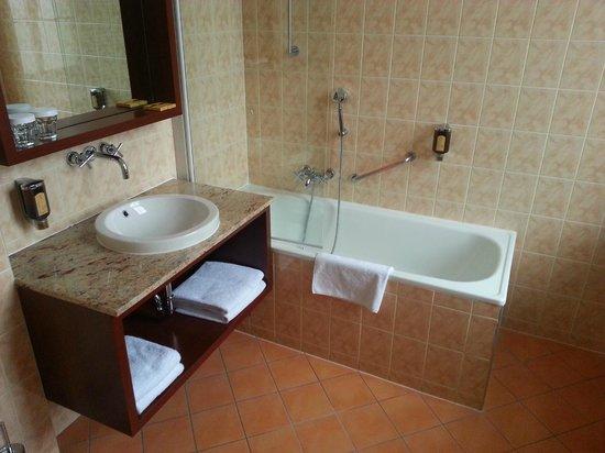 Grandhotel Brno: Bagno camera 224