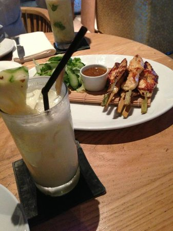 Sand Box Restaurant and Bar: Chicken satay