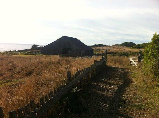 Sea Ranch Lodge: Rustic barn.