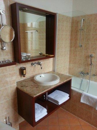 Grandhotel Brno : Bagno camera 224