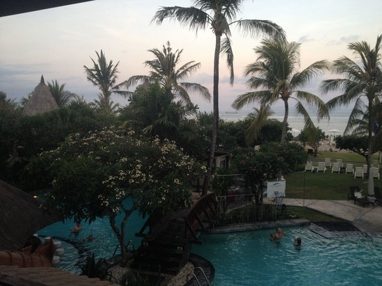 Grand Mirage Resort and Thalasso Bali : Sunset