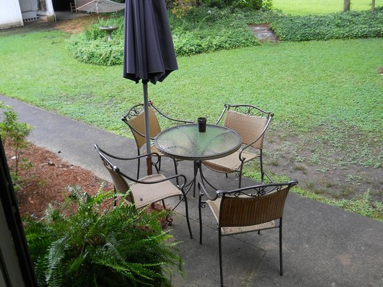 Big Mill Bed and Breakfast : Outside dining