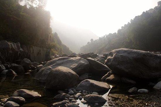 Jamwal Villa Homestay: Ravi riverbed