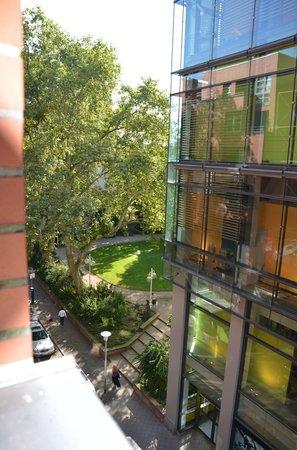 Leonardo Hotel Mannheim City Center: View from room