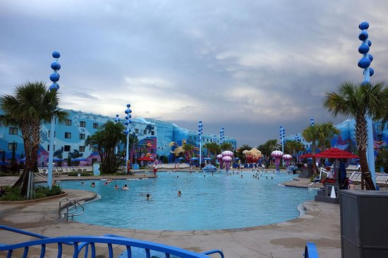 Disney's Art of Animation Resort: The pool.