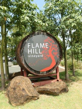 Flame Hill Vineyard: Entrance