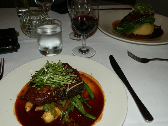 Flaxton Gardens Restaurant: Beef & Lamb