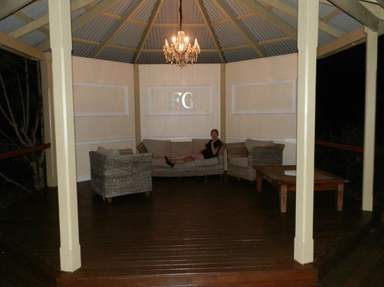 Flaxton Gardens Restaurant: Gazebo out back