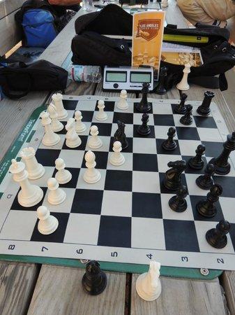 International Chess Park: A quick game