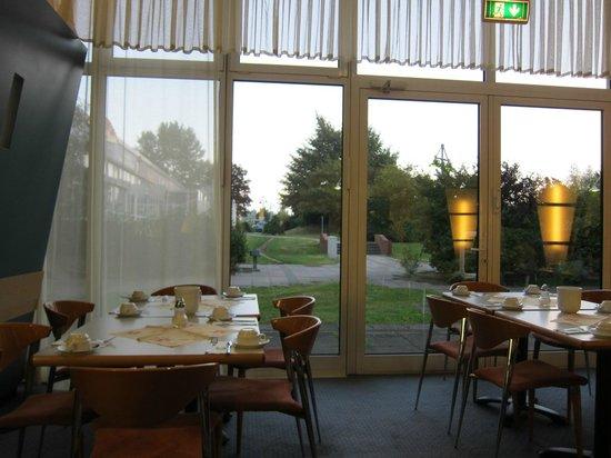 Comfort Hotel Lichtenberg: コンフォート ホテル リヒテンベルグ・・・レストランからの風景