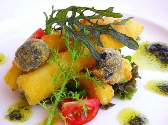 Bistro Le Chemin: 季節の野菜料理