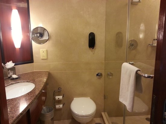 Vivanta by Taj - Blue Diamond: Small but spotless bathroom