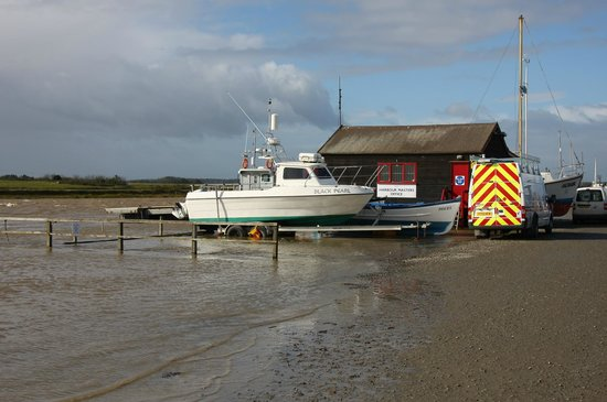 Southwold Sailors' Reading Room: Southwould Harbour Hight Tide at Harbour Masters Office October 6 2013