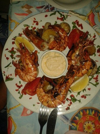 Balikcinin Yeri Restaurant: Karides - Jumbo prawns