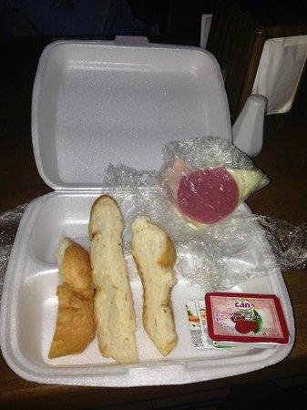 "Britannia Hotel: This is ""lunch""!"