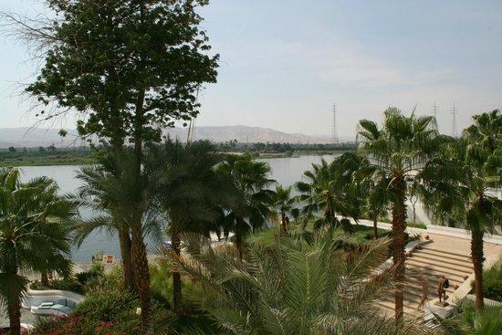 Hilton Luxor Resort & Spa: Vue sur le Nil