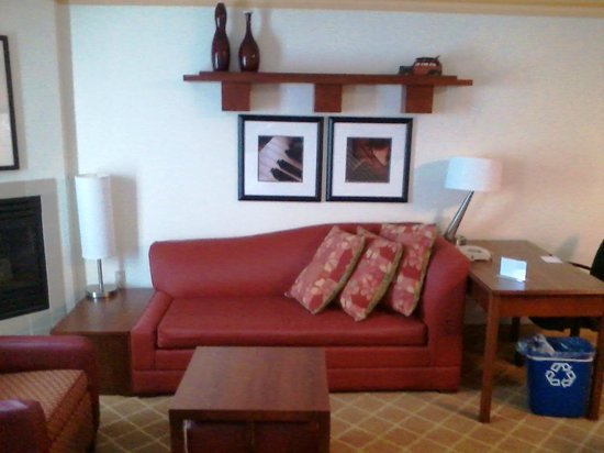 Residence Inn Kansas City Overland Park: Sofa Area