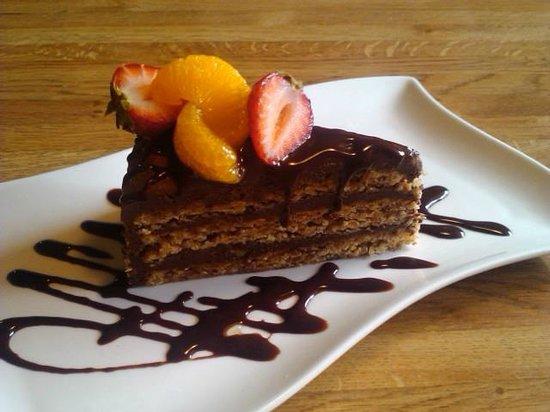 Pacific Restaurant: Gluten free Chocolate Hazlenut torte