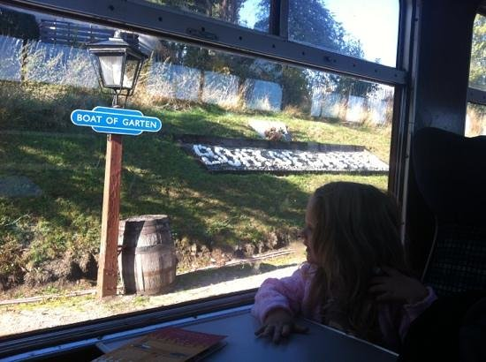 Strathspey Railway: stop along the way