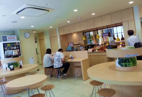 Super Hotel Asakusa: Breakfast cafeteria with free beverages during breakfast hours & microwave for guest use 24hrs