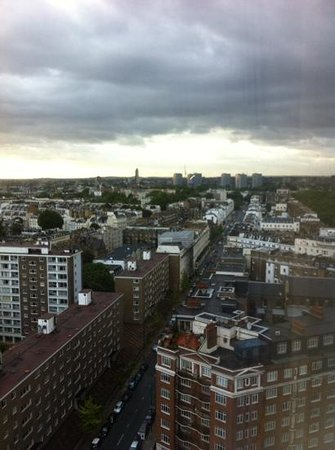 Royal Lancaster London: view from 17th floor room