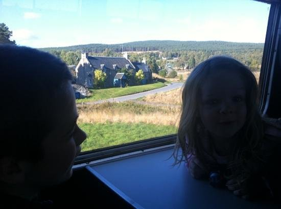 Strathspey Railway: the view