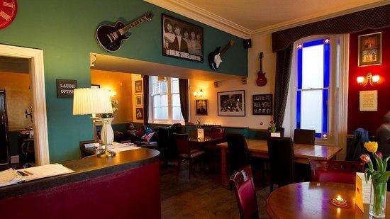 The Preston Bed & Breakfast: The bar