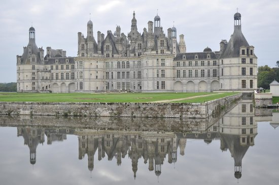 Château de Chambord: View from the rear.